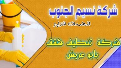 Photo of شركة تنظيف شقق بابو عريش 0536589462