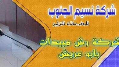 Photo of شركة رش مبيدات بابو عريش 0536589462