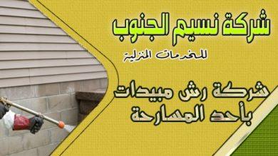 Photo of شركة رش مبيدات باحد المسارحه