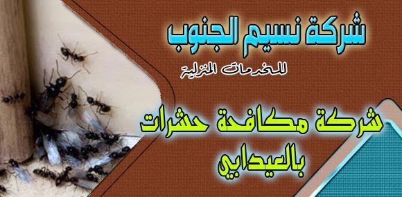 شركة مكافحة حشرات العيدابي