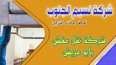 Photo of شركة نقل عفش بابو عريش 0555299427